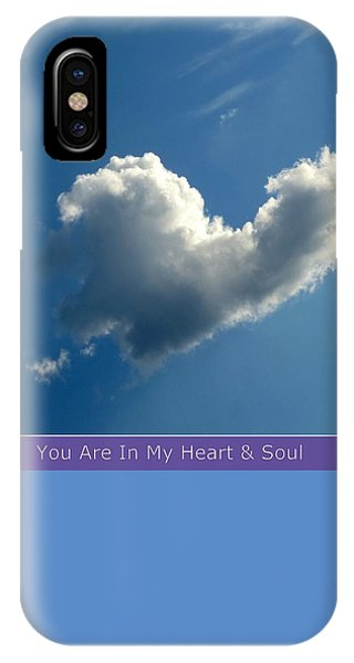 Heart Cloud Sedona IPhone Case