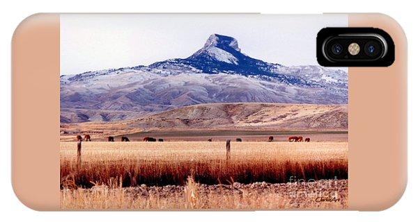 Heart Mountain - Cody,  Wyoming IPhone Case