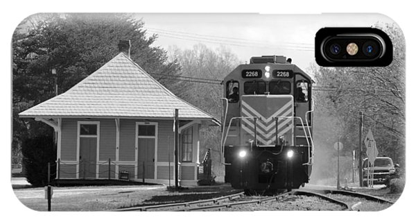 Heath Springs Depot 2.24.2016 IPhone Case
