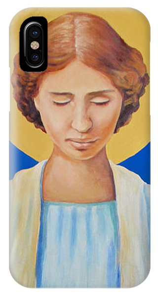 Helen Keller IPhone Case
