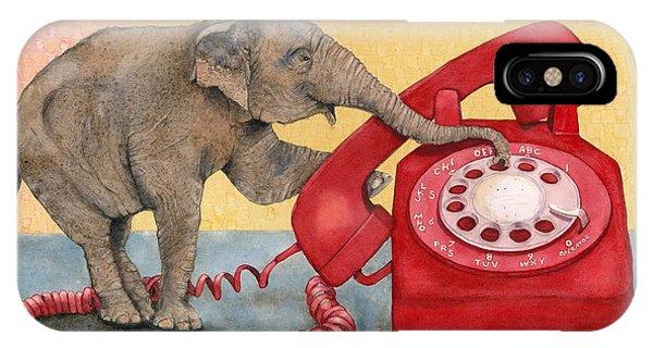 Trunk Call IPhone Case