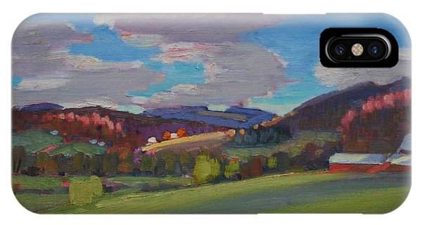Hills Of Upstate New York IPhone Case