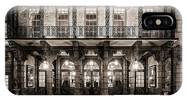 Historic Dock Street Theatre IPhone Case