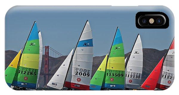Hobie Cat Regatta San Francisco IPhone Case