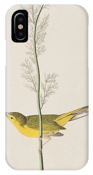 Hooded Warbler IPhone Case