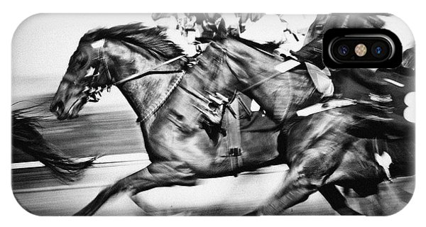 Horse Racing IPhone Case