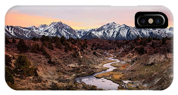 Mammoth Hot Springs iPhone Case - Hot Creek Sunset by Johnny Adolphson