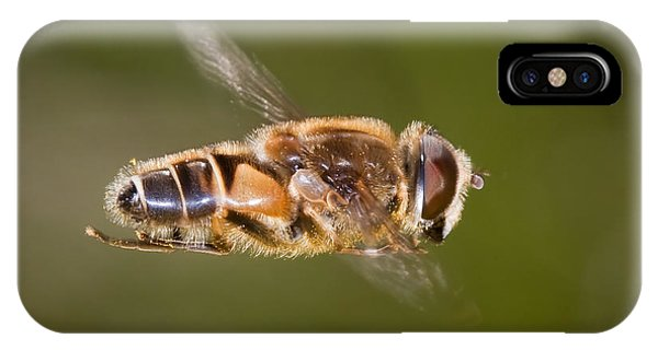Hoverfly In Flight IPhone Case