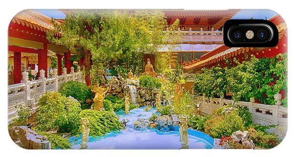 Hsi Lai Temple IPhone Case