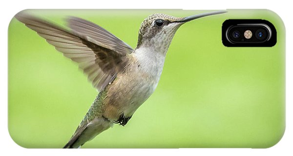 IPhone Case featuring the photograph Hummingbird by Allin Sorenson