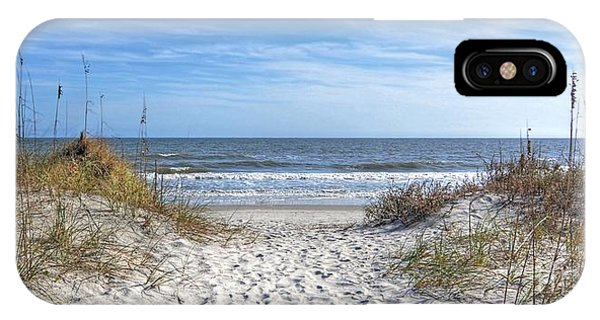 Huntington Beach South Carolina IPhone Case