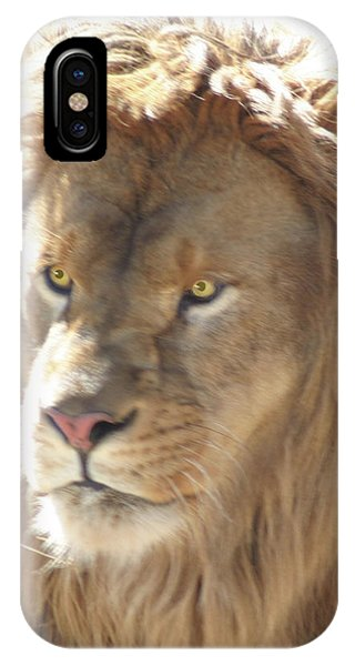 I Am .. The Lion IPhone Case