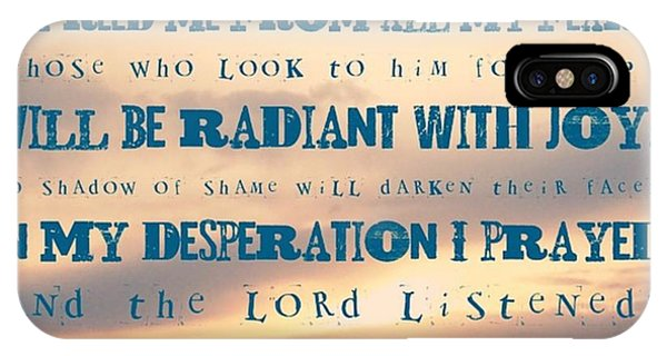 Design iPhone Case - I Will Praise The Lord At All Times.  I by LIFT Women's Ministry designs --by Julie Hurttgam