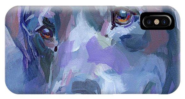 Midnite iPhone Case - Ike by Kimberly Santini