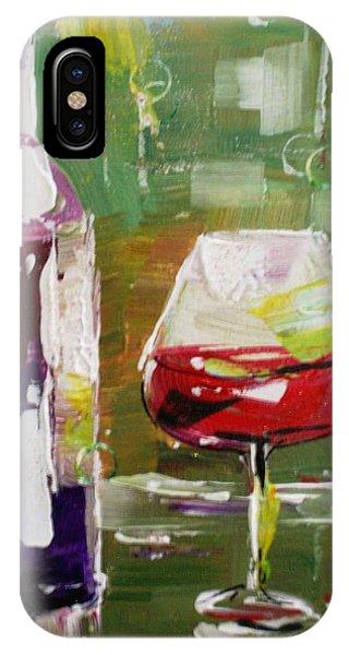 In Vino Veritas. Wine Collection IPhone Case