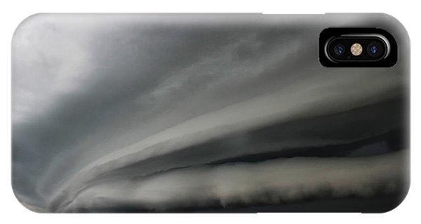 Intense Shelf Cloud IPhone Case