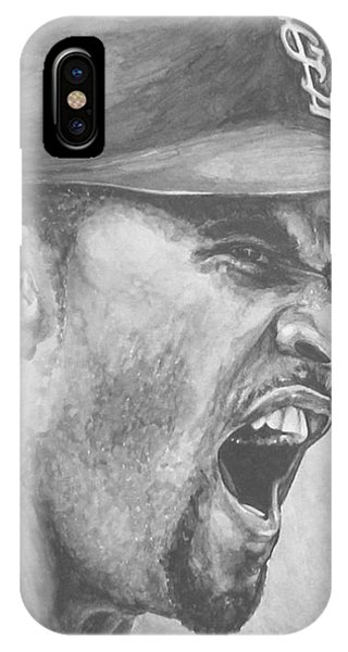 Intensity Pujols IPhone Case
