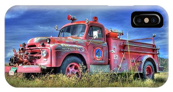 International Fire Truck 2 IPhone Case