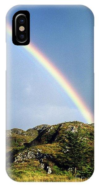 Rainbow iPhone Case - Irish Rainbow by John Greim