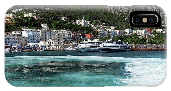 Isle Of Capri - Harbor IPhone Case