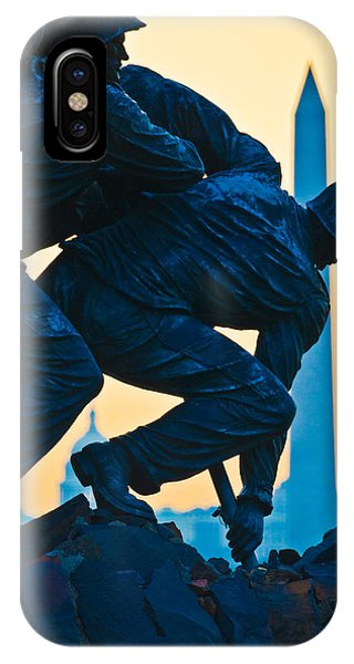 Iwo Jima Memorial At Dusk IPhone Case