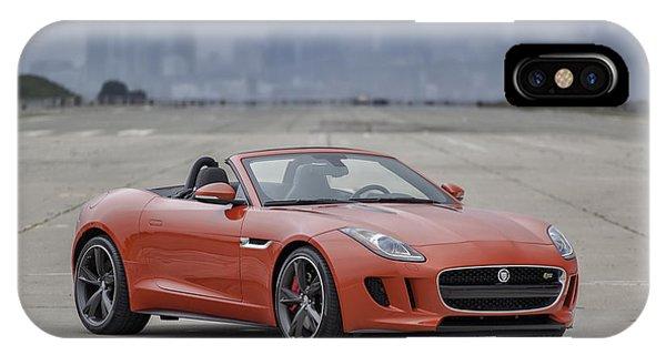 Jaguar F-type Convertible IPhone Case