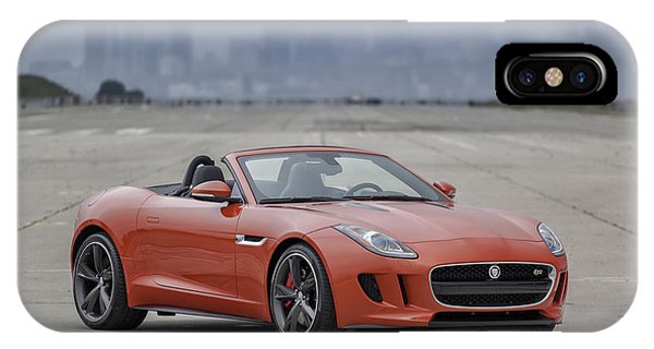 Jaguar F-type Convertible IPhone Case