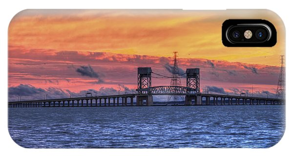 James River Bridge IPhone Case