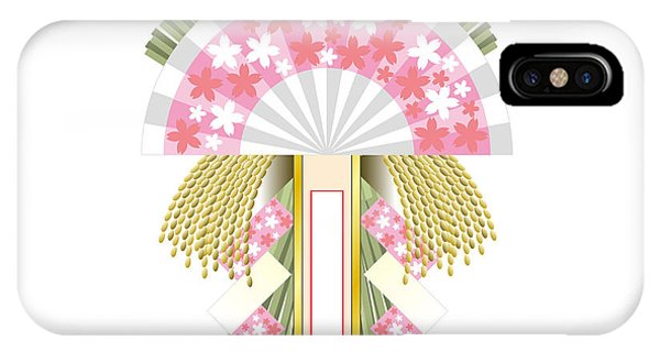 iPhone Case - Japanese Newyear Decoration by Moto-hal