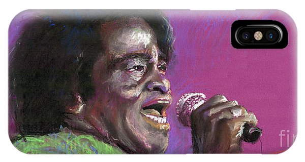 James iPhone Case - Jazz. James Brown. by Yuriy Shevchuk