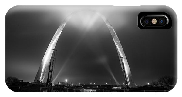 IPhone Case featuring the photograph Jefferson Expansion Memorial Gateway Arch by Matthew Chapman