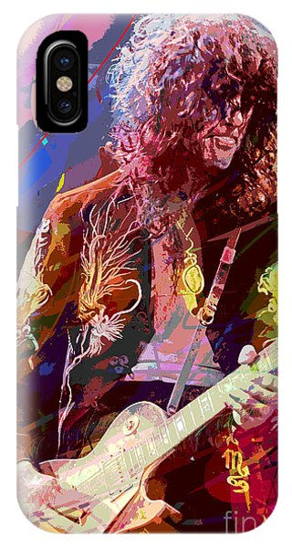 Jimmy Page Les Paul Gibson IPhone Case
