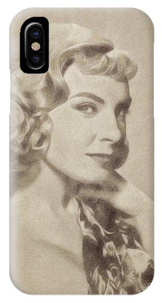 Joanne Woodward, Vintage Actress By John Springfield IPhone Case