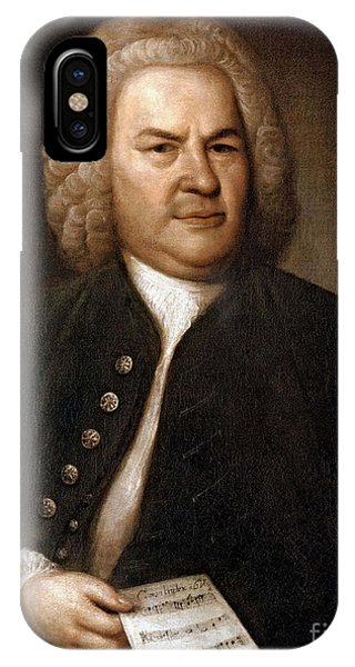 Johann Sebastian Bach, German Baroque IPhone Case