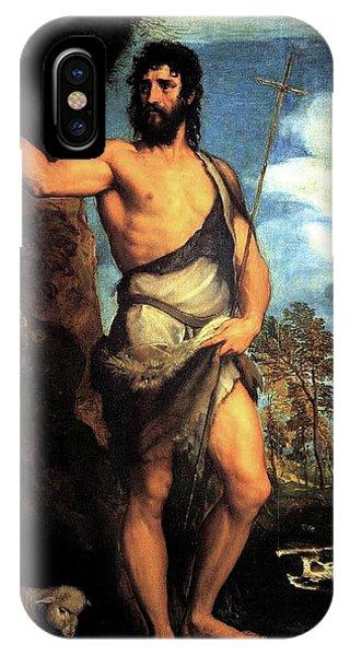 John The Baptist IPhone Case