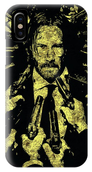 New Trend iPhone Case - John Wick by Dusan Naumovski
