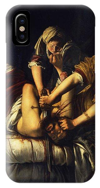 Judith Beheading Holofernes IPhone Case