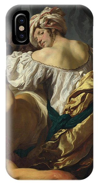 Bravery iPhone Case - Judith In The Tent Of Holofernes by Johann Liss