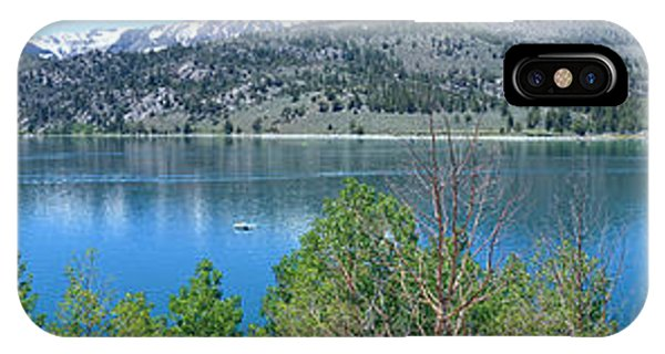 June Lake Panorama IPhone Case