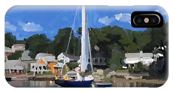 Kanga In Lobster Cove IPhone Case