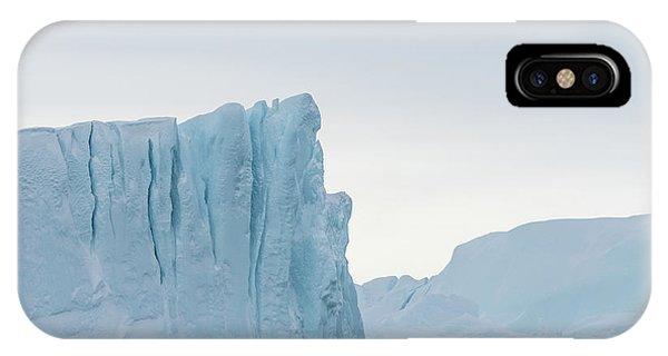 Glacier Bay iPhone Case - Kangia Iceberg by Janet Burdon