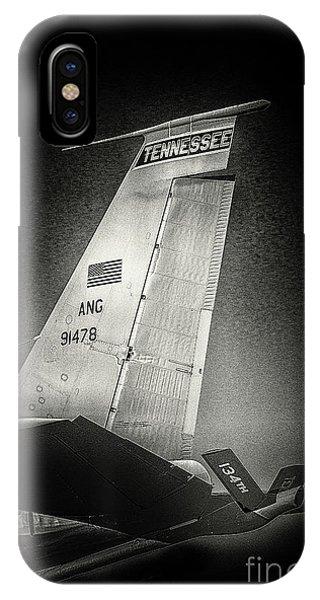 Kc_135 In Flight Refueling Tanker IPhone Case