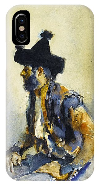 Impressionistic iPhone Case - King Of The Gypsies by John Singer Sargent