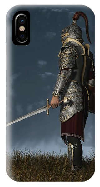 Knight Of The Storm IPhone Case