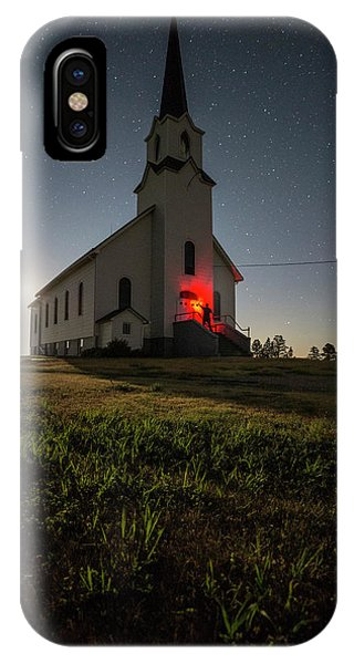Lutheran iPhone Case - Knockin On Heaven's Door by Aaron J Groen