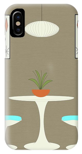 IPhone Case featuring the digital art Knoll Table by Donna Mibus