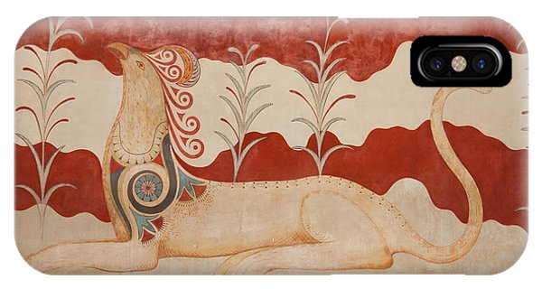 Greece iPhone Case - Knossos Archeological Site by Gabriela Insuratelu