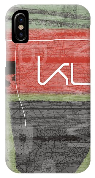 Contemporary iPhone Case - KUT by Naxart Studio