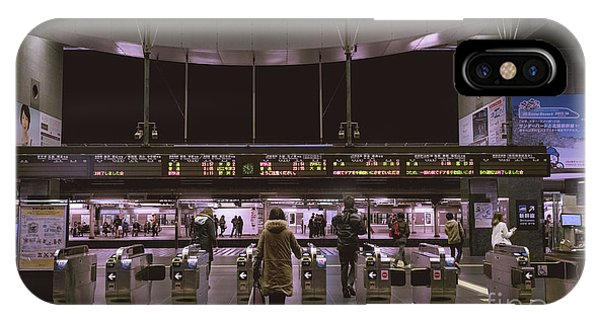 Kyoto Train Station, Japan IPhone Case