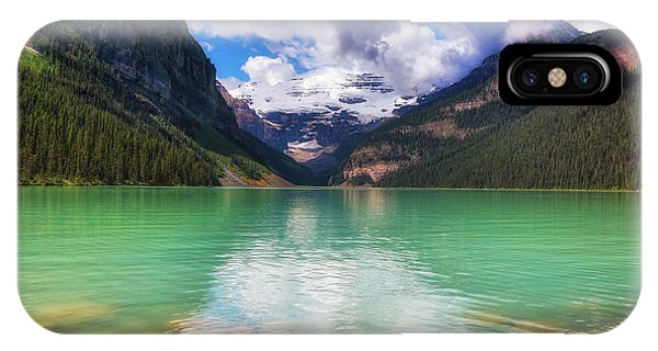 Lake Louise Is Really Green IPhone Case